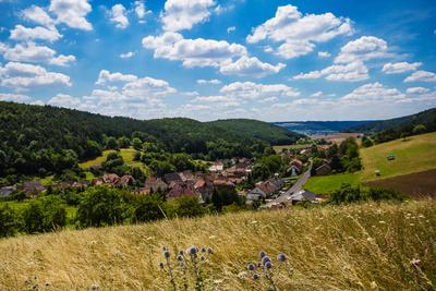 Dorf in Franken