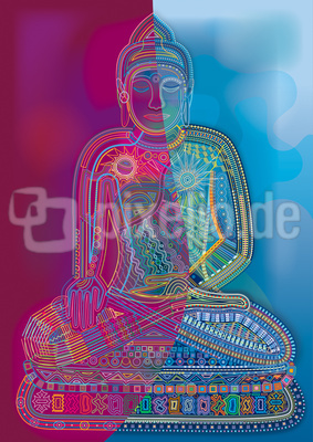 Red-Blue-Buddha