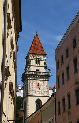 Passau - Turm am Alten Rathaus 01