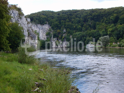 Donaudurchbruch bei Kloster Weltenburg