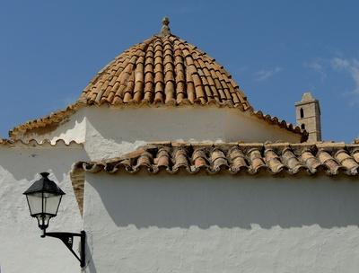 Ziegeldach in Eivissa (Ibiza-Stadt)