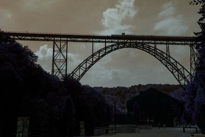 Müngstener Brücke Dark Art