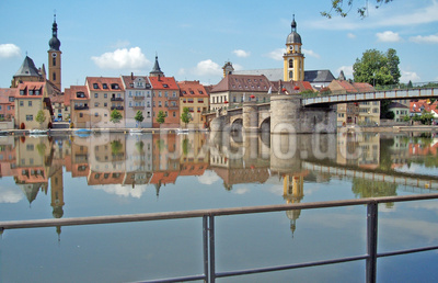 Kitzingen am Main - Altstadtfassade