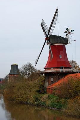 Rote Mühle von Greetsiel