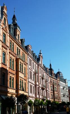 Rosenheim - Gründerzeitfassaden