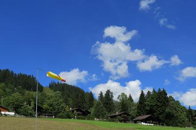Gleitschirm-Landeplatz