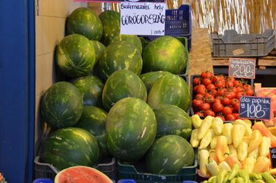 gemüsemarkt in budapest