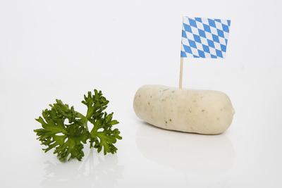 Weißwurst zum Oktoberfest