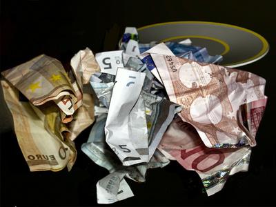 verlorenes Geld