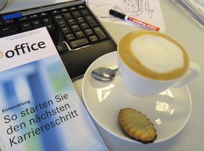 Cappuccino-Pause nutzen