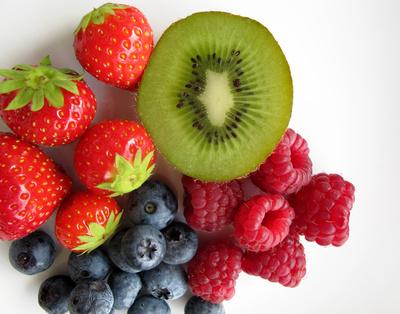 Vier-Frucht ins Müsli