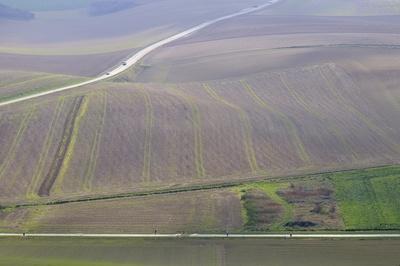 Felder in Nordfrankreich