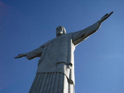 Cristo Redentor ..Seitenansicht