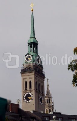Der Alte Peter - ein Wahrzeichen Münchens 01