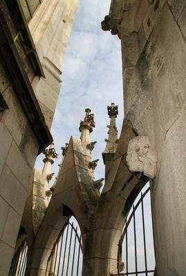 Details einer prachtvollen Architektur 01