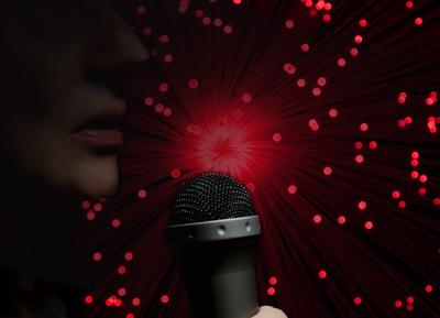 beim singen