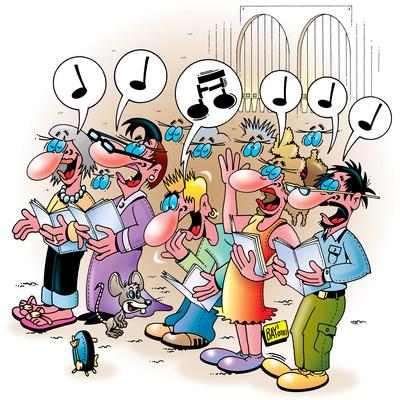 Helden des Hobbys: Der Chorsänger