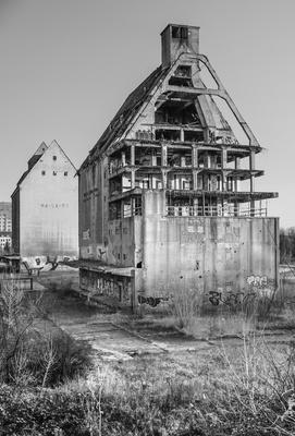Hafen Speicher von Leipzig