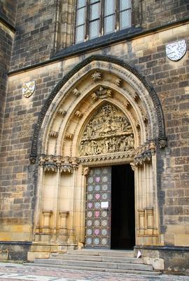 Prag - Hauptportal St. Peter und Paul