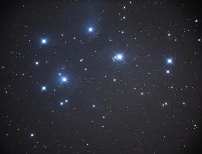 Plejaden oder M45