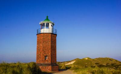 Insel Sylt - Leuchtturm bei Kampen