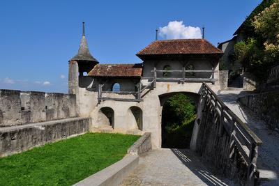 Historisches Gruyères (Greyerz)