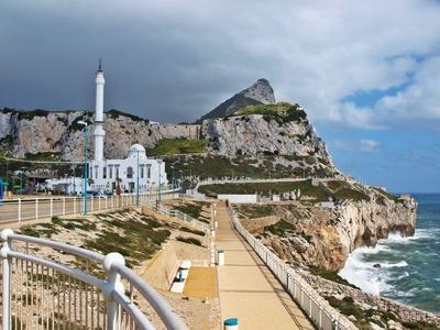 Wolken über Gibraltar