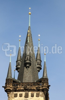 Prag - Teynkirche 04