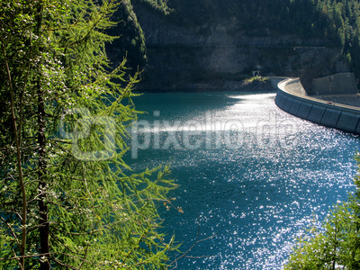 Staudamm Lago di Luzzone