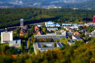 Campus der Universität des Saarlandes