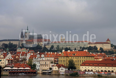 Prag - Berg Hradschin mit Prager Burg