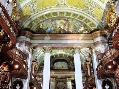 Wien, Prunksaal (Teilansicht)