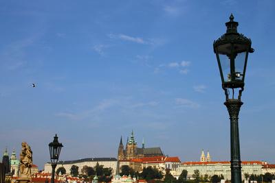 Prag - Berg Hradschin mit Prager Burg 02