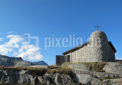Kapelle auf dem Grimsel-Pass