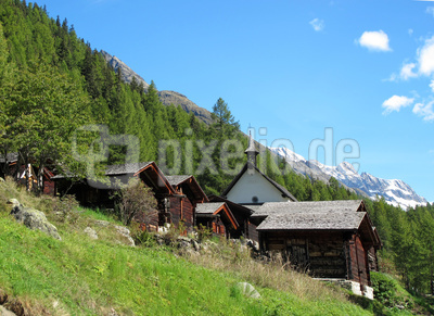Kleine Kapelle im Lötschental