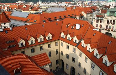 Die Dächer einer Stadt 04