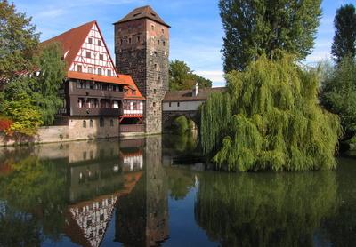 Weinstadel und Wasserturm, Nürnberg