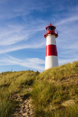 Insel Sylt - Leuchtturm List Ost 2 (hoch)
