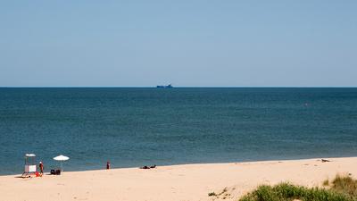 Strandidylle am Schwarzen Meer