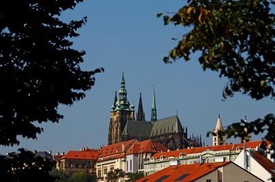 Prag - Berg Hradschin mit Prager Burg 04