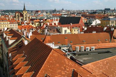 Die Dächer einer Stadt 06