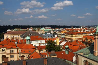 Die Dächer einer Stadt 07