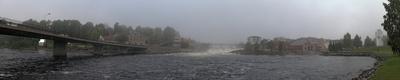 nebliger Morgen in Südnorwegen