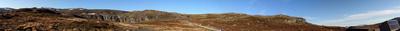 Panorame Südnorwegisches Fjell