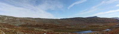 Panorama eines Fjell
