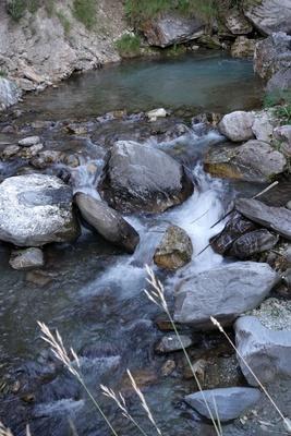 Wildes Wasser der Maira
