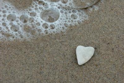 Das Herz am Strand