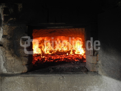 Holzbackofenfeuer