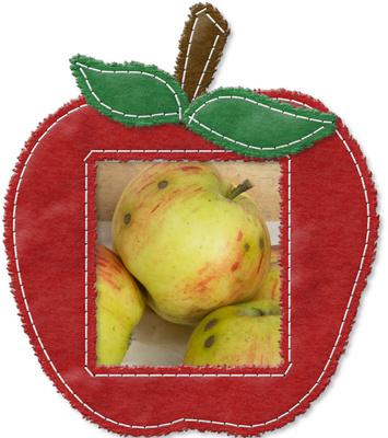 Apfel im Apfel