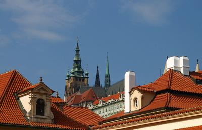 Prag - Berg Hradschin mit Prager Burg 05
